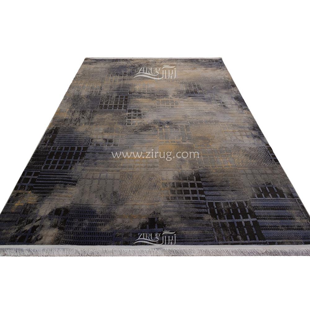 فرش ماشینی 700 شانه وینتیج 403 آیپک گل برجسته